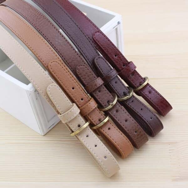 0aedc659efe3 4pcs  lot 47~54CM Double-ended adjust Shoulder Bag belt DIY Lady handbag  accessories Can Bag handle Vintage Craft Workshop