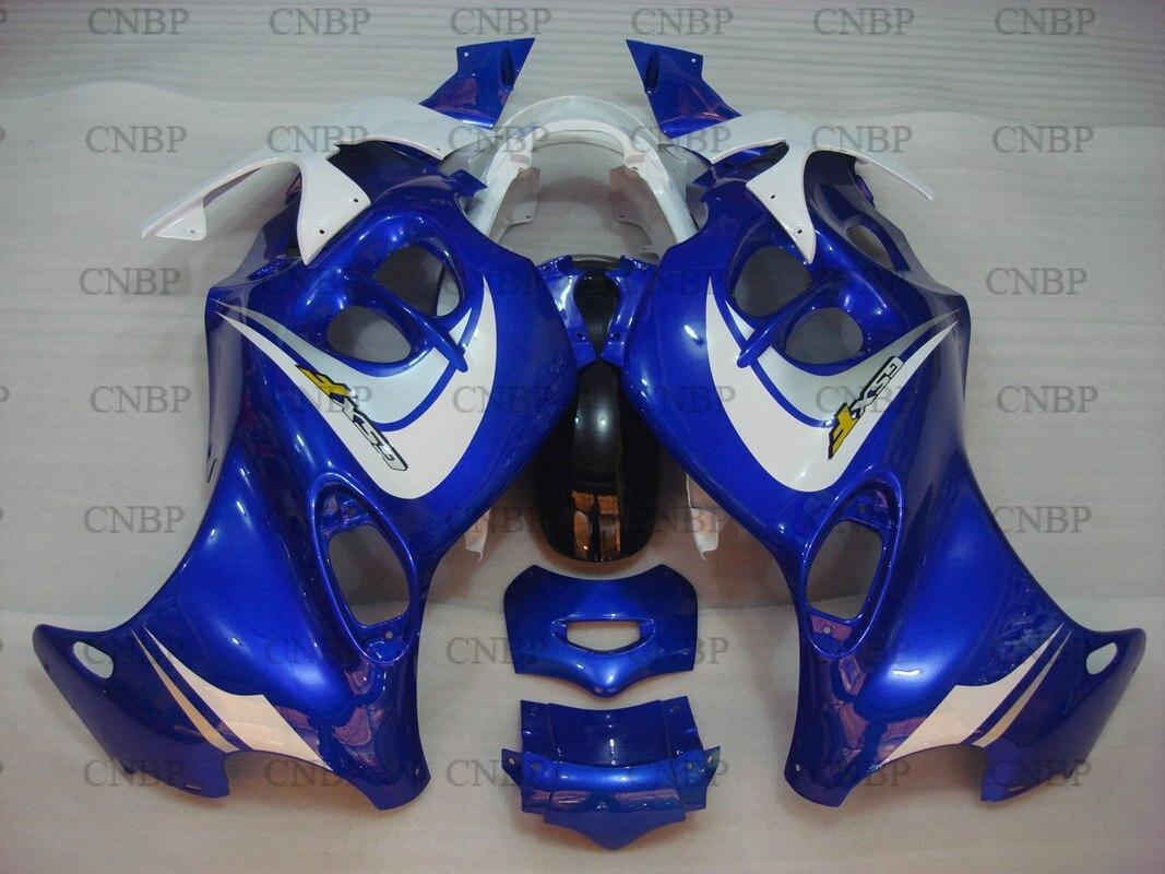 Carenature GSX750 05 Carenature GSX750 99 00 2005-2006 Katana Blu Bianco Carrozzeria per Suzuki GSX600F 06