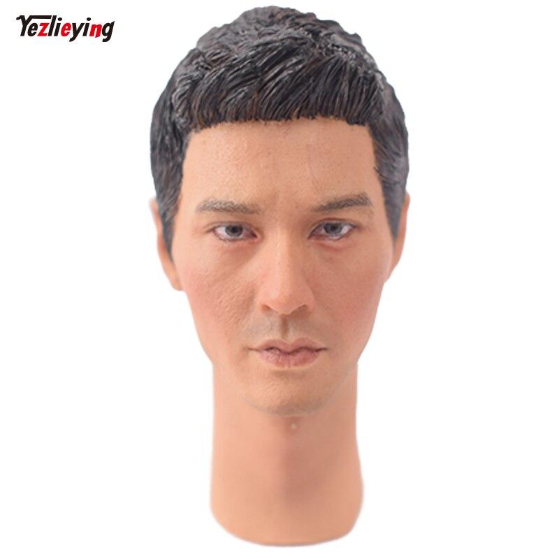 TopToys 1/6 Scale Head Sculpt Carving KUMIK 16-66 Male Korea Star Zhang Heyuan Handsom F 12 Inch Phicen hot toys Action Figure