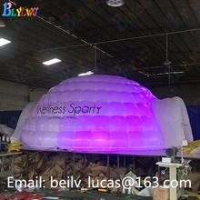 Large inflatable tent Dome with led tent Open 2 door tent party advertising tent custom advertising inflatable spider tent from china