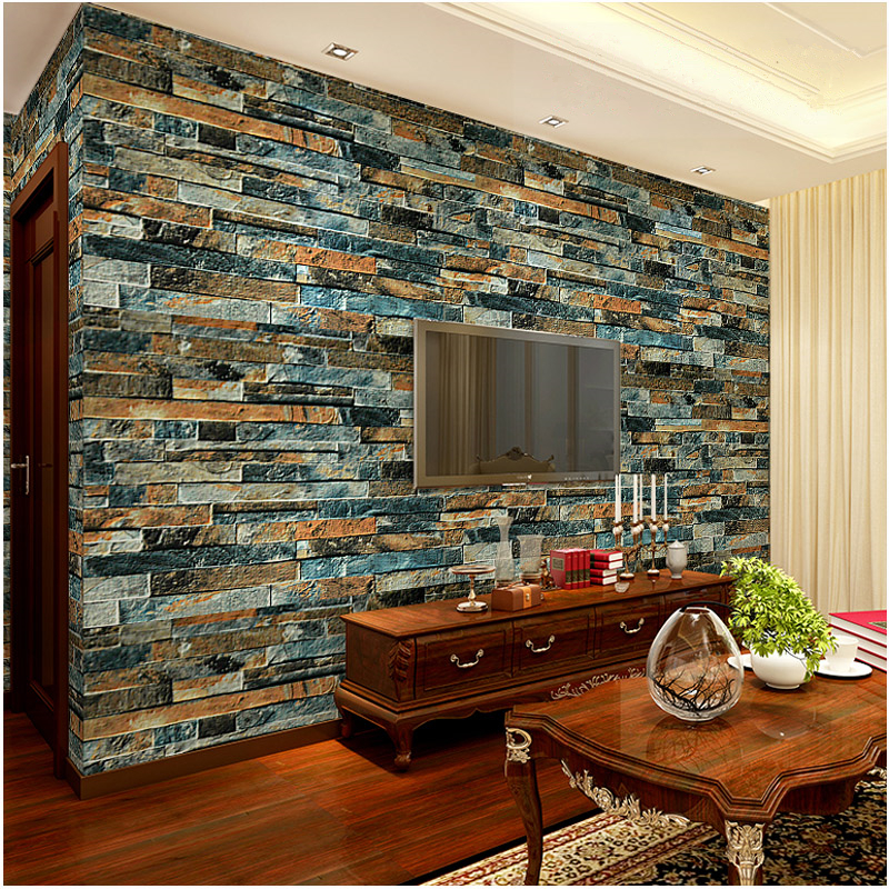 Buy modern luxury stone brick 3d for Luxury 3d wallpaper