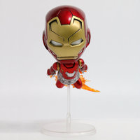 2pcs Iron Man Spider Man Homecoming Collectible Figures 4 Inches 4