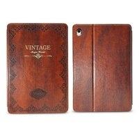 Retro Vintage Book Style Case For IPad Pro 9 7 Inch Premium PU Leather Slim Folio