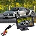4.3 polegadas HD dual-exibição reverter Exibição Espelho Retrovisor Do Carro do monitor LCD Espelho Monitor Do Carro Digital DVD VCD 12 V Removível