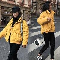 LIVEATHON Modern Warm Concise Style Coat Winter Womens Down Jackets Short Light Duck Down Doat Puffer Jacket Autumn Parkas