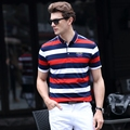 Вышивка Мужчины Polo Рубашка Slim Fit С Коротким Рукавом 95% Хлопок Марка Одежды Мода Лето Письмо Логотип Mens Polo Shirts