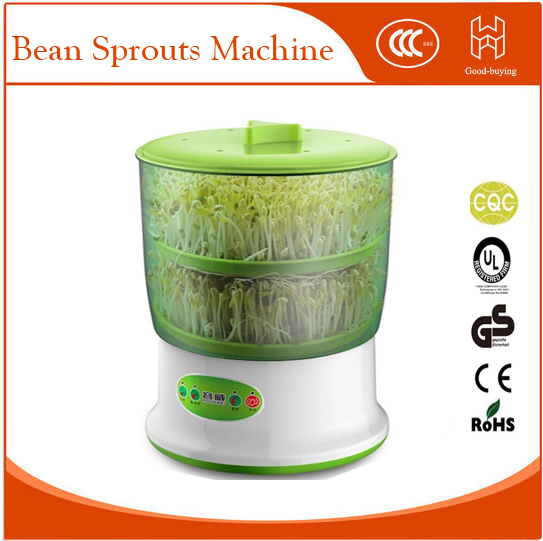 Intelligence Bean Sprouts Machine Upgrade Large Capacity Thermostat Green Seeds Grow Automatic Bean Sprout Machine grohe смеситель