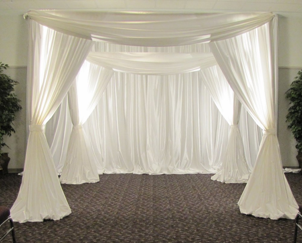 Online buy wholesale wedding canopy decoration from china for Canape decoration