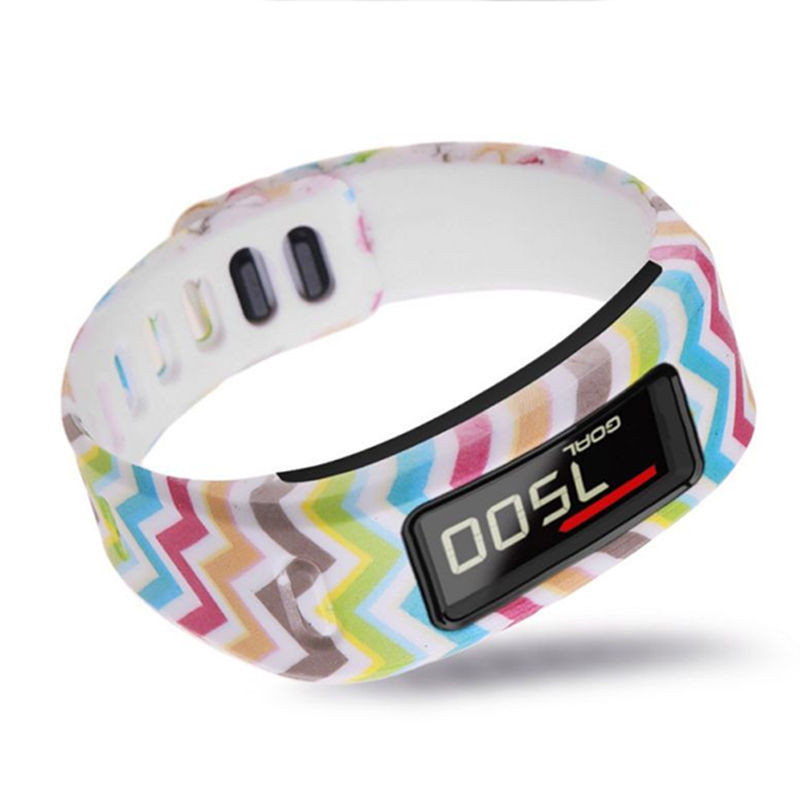 New TPU Replacement Wristband Band For Garmin Vivofit Bracelet with Clasp S Size