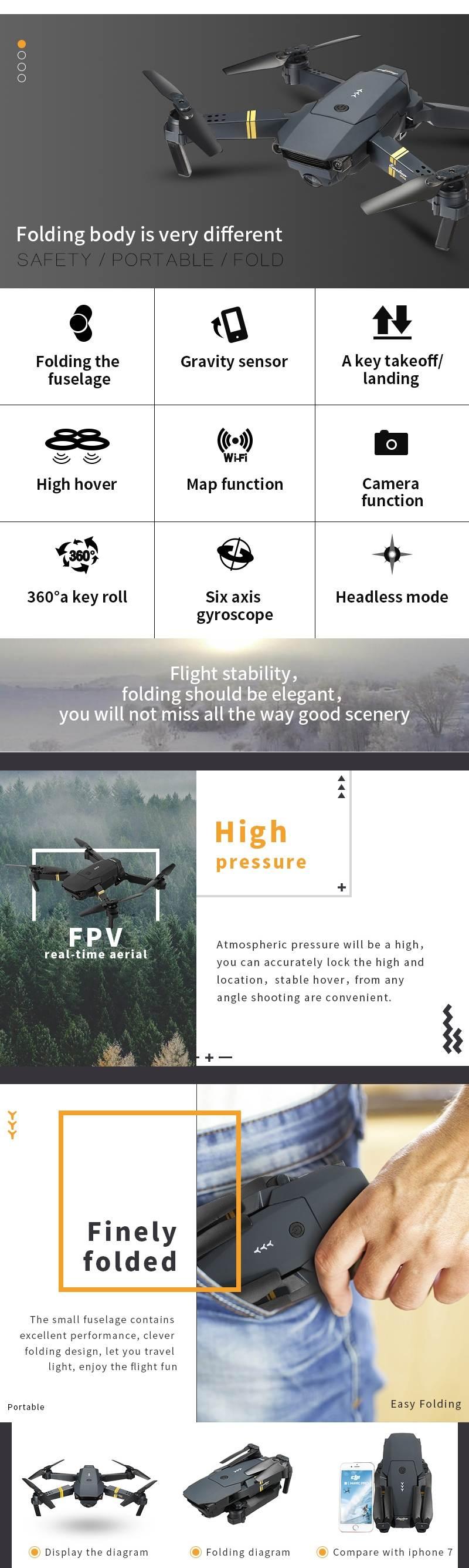 Promotion drône parrot, avis drone parrot application