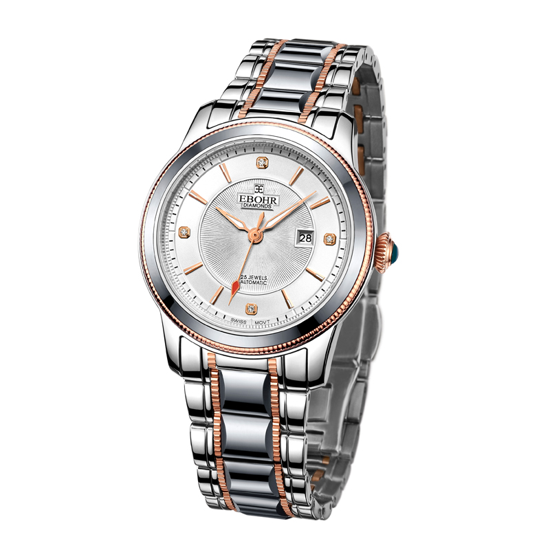 EBOHR brand ladies watch fashion Ladies mechanical watch bracelet casual clock gift watch luxury 2019 new style Ebohr 10470121|Women's Watches| |  - title=