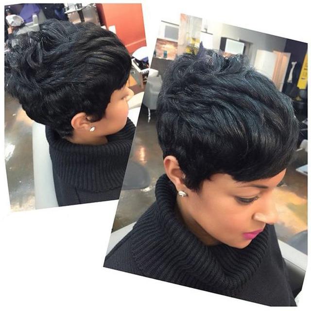 captivating short hairstyle virgin