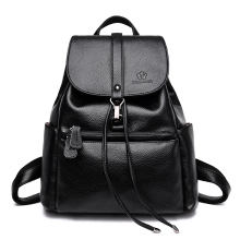 Women Backpack Shoulder Bags High Quality PU Leather Mochila Escolar School Bags For Teenagers Girls Backpacks Herald Fashion