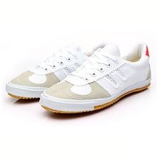 USHINE EU36-47 Новые Классические Feiyue обувь сотрудничество Единоборства китайский занятий Кунг кроссовки человек женщина большой Размеры