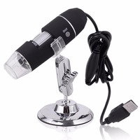 Portable Mega Pixels 50X To 500X 2MP USB 8 LED Digital Industrial Microscope Endoscope Camera Magnifier