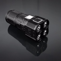 42000 Lumens T6 LED Flashlight Waterproof Zoomable Adjustable Tactical Torch Lamp 18650 Battery Bulit In USB