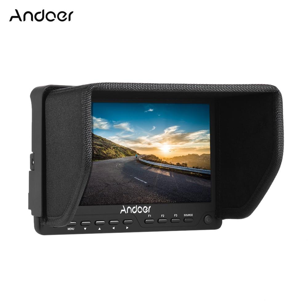 Andoer AD 702 7 \'\'ultradünne HD Monitor 1280x800 IPS Kamera Feld ...