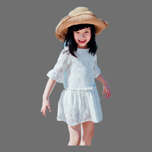 Spring 2016 Meisjes Jurk Kids Costume Baby Girls Party Princess Dresses Cotton Lace Robe Vetement Enfant Fille Vestito Da Sera