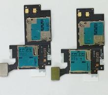 10pcs lot Original For Samsung Galaxy NOTE2 N7100 SIM Card Holder Micro SD Memory Slot Reader