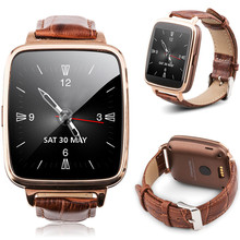 New Smart Watch With Camera Bluetooth Smart Wrist Watch Phone MateLeather Starp Sync Call Music Pedomete Support Multi languages