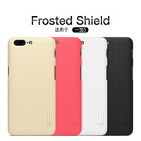 10pcs Lot Wholesale NILLKIN Super Frosted Shield Case For Oneplus 5 A5000 Oneplus5 PC Plastic Back
