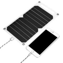 Portable 10W Outdoor Solar Energy System USB Solar Panel Mobile Power Charger Universal High Efficiency IP62 Waterproof(China)