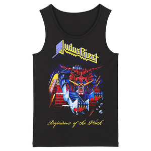 Image 2 - Bloodhoof Judas Priest Grindcore HardMetal Deathcore גברים של שחור גופיות אסיה גודל