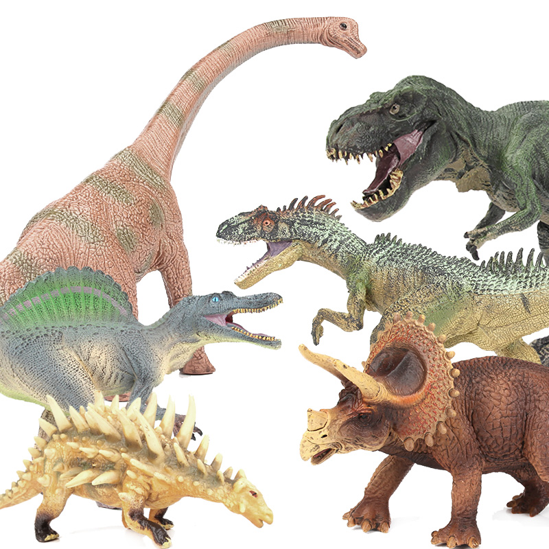 Lamwin Realistic Middle Size Jurassic Dinosaur Model Action Figures Plastic Collection Dragon Toys wiben jurassic pterosauria dinosaur toys action