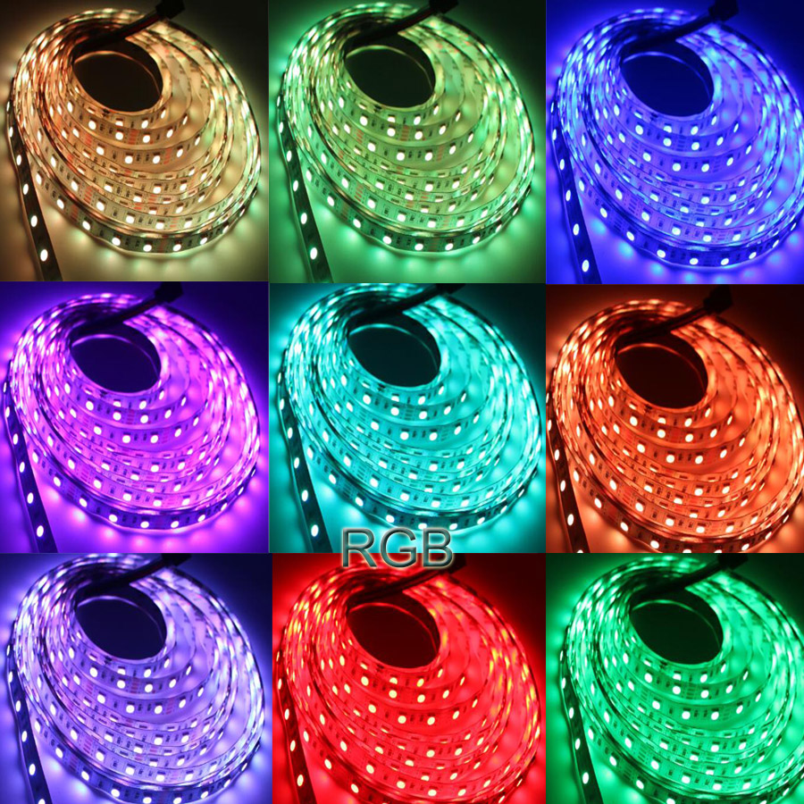 WiFi Led Strip Light SMD 5050 60led 2835 RGB Led Stripe DiodeTape DC12V Flexible RGB LED WiFi Led Strip Light SMD 5050 60led 2835 RGB Led Stripe DiodeTape DC12V Flexible RGB LED Strip Ribbon Diode with WiFi Controller
