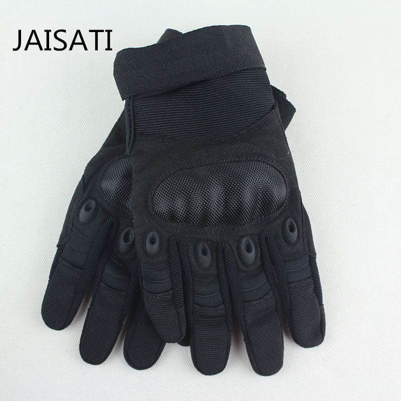 Army Gear Tactical Gloves Men Full Finger SWAT Combat Military Gloves Militar Carbon Antiskid Shooting Paintball Bicycle Gloves commando outdoor climbing half finger gloves tactical combat tactical black hawk riding fitness boxing gloves