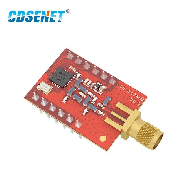 1 шт. 433 МГц SI4463 длинный диапазон rf модуль E10-433MD-SMA SPI iot Беспроводной трансивер 433 МГц радиоволновой приемопередатчик для Arduino