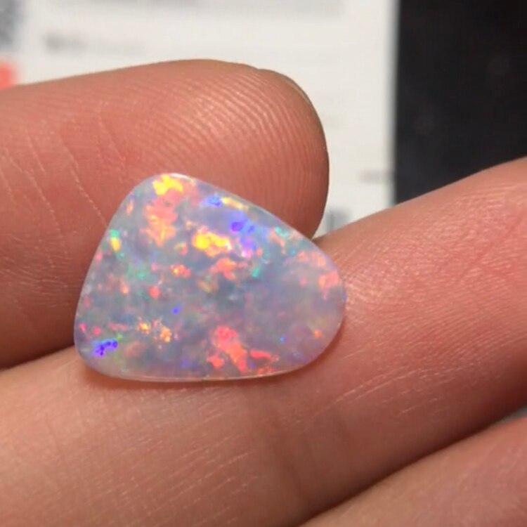 429 CQT certifié 1.780ct naturel opale colorée pierres précieuses australie origine pierres en vrac pierres précieuses en vrac