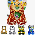 Baby Pillow Baby Headrest 1-4 years Cartoon Animal Design baby/child Neck Pillow U Pillows For Car Seats Travel Cushion