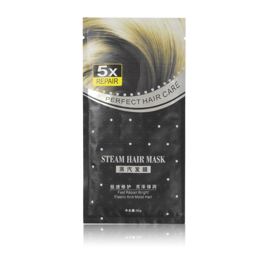 Automatic Heating Steam Hair Mask Keratin Oil Treatment