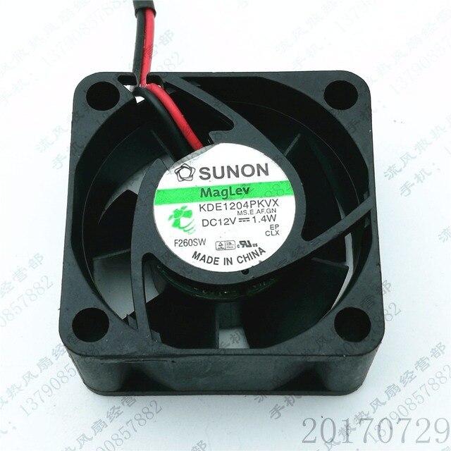 SUNON DC12v 1.4 w 4020 4 cm KDE1204PKVX serveur onduleur alimentation axiale ventilateurs de refroidissement
