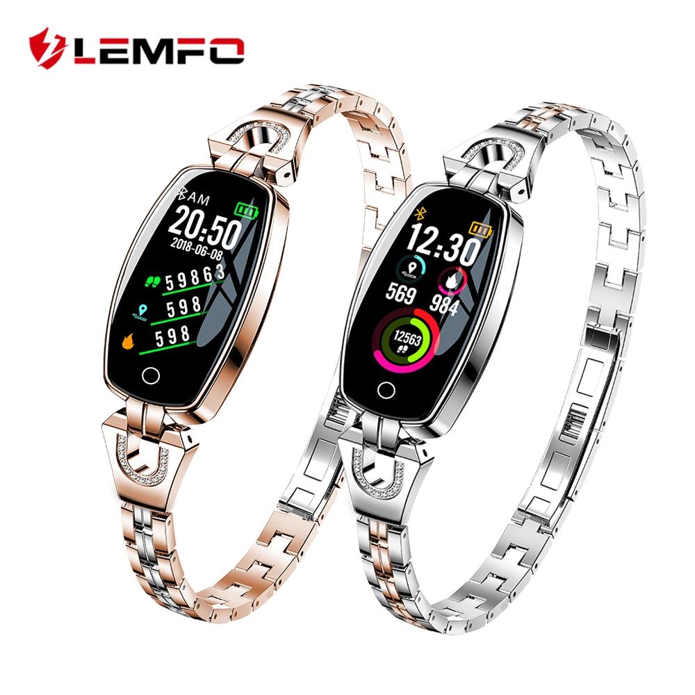 LEMFO H8 Smart Uhr Frauen 2018 Wasserdicht Herz Rate Überwachung Bluetooth Für Android IOS Fitness Armband Smartwatch