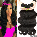 Prom Queen Hair Products human hair weave bundle deals,4 bundle deals Brazilian virgin hair body wave,queen weave ms lula hair