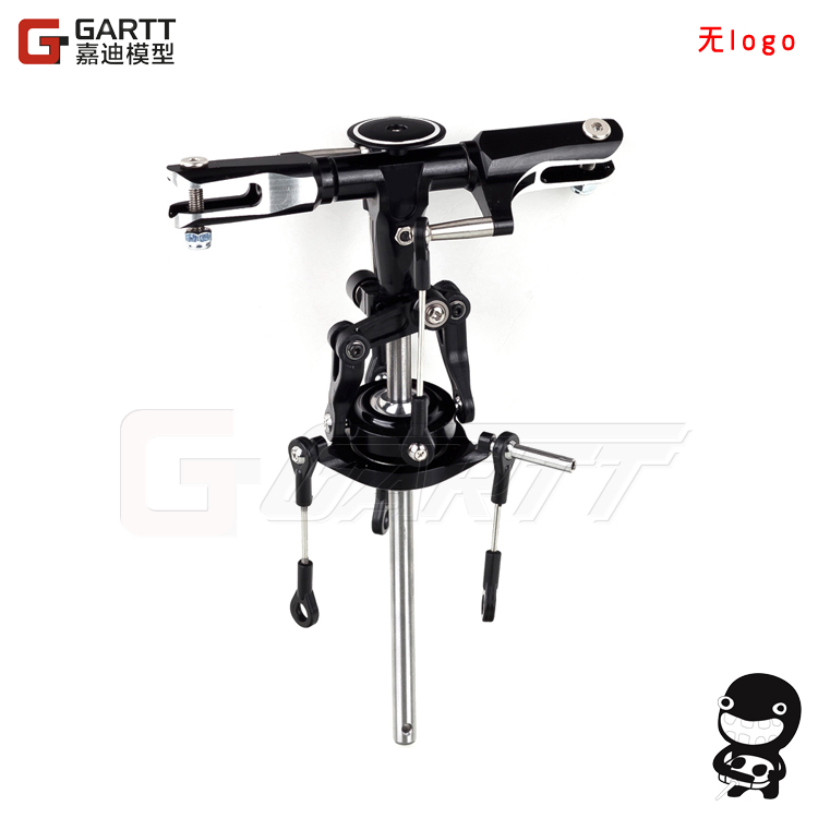 Ormino Freeshipping GARTT GT450 Flybarless main Rotor Head Assembly 100% compat Align Trex 450 without logo align t rex 250dfc main rotor head upgrade set h25119 trex 250 spare parts free track shipping
