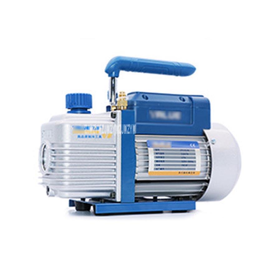 New 1L FY-1C-N Laboratory Suction Filtration Vacuum Pump Refrigeration Repair Air Conditioning Mini Vacuum Pump 220V 150W 2pa fy 2c n 2l mini vacuum pump filtration experiments air conditioning fridge 2mpa model vacuum pump 250w 7 2m3 h