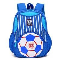 Elementary School Student S Backpack Soccer Pattern Schoolbag Kindergarten Student Shoulder Bag 1 3 Grade Boy