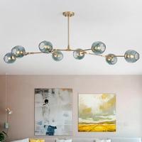 Vintage Loft Industrial Pendant Lights Black Gold Hanglamp Stair Dining Room Glass Shade Luminaire Suspendu Nordic Pendant Lamp