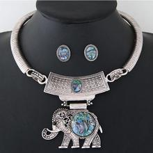 NANBO Fashion MX0016 Accessory Rhinestone Collares Crystal Jewelry Set Choker punk dubai Silver Aniaml jewellery Sets