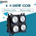 4eyes par светодиодный светильник 4x100 Вт Блиндер профессиональное сочетание положительный белый/теплый белый