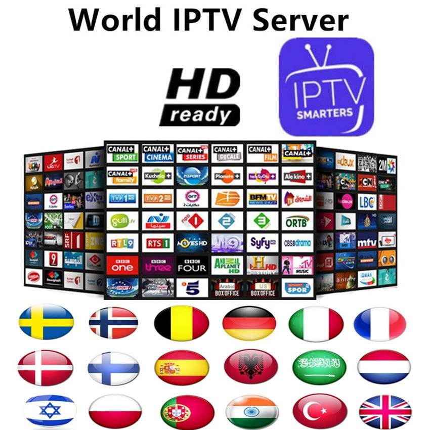 Free Test 7800+Live Spanish IPTV M3U Subscription Super Spanish IPTV Smart TV Germany Italian Albania Turkey for Android Enigma2