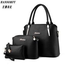 100% Genuine leather Women handbag 2017 New Three piece type fashion Crossbody Shoulder Handbag women messenger bags