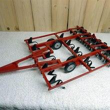 Специальное предложение тонкий 1:16 14820 Ретро трактором аксессуары плуга сельскохозяйственная модель автомобиля сплав Коллекционная модель