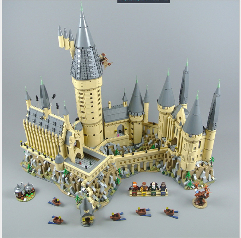 Lepin 16060 lepin Harry Magic Castillo Hogwarts Potter set Compatible legoing 71043 bloques de construcción ladrillos niños juguetes educativos