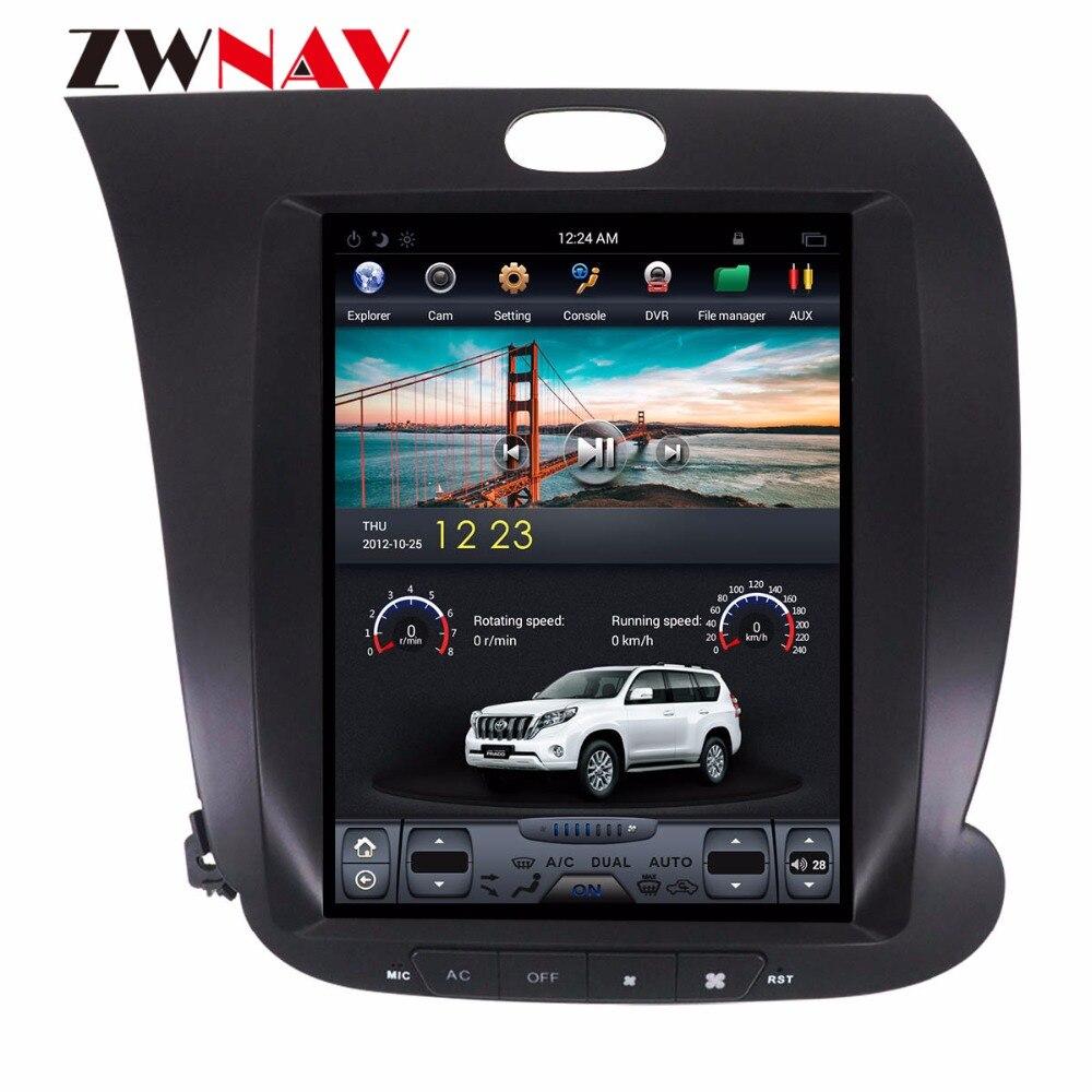ZWNVA Tesla IPS Écran Android 6.0 64 + 2 gb Voiture GPS Navigation Radio Aucun Lecteur de CD Pour KIA CERATO k3 FORTE 2013 2014 2015 2016 2017