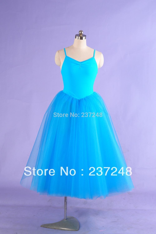 HOT SALE!long romantic ballet tutu dress,girls Ballet skirts with leotard;ballet dress for adult;ballet stage costumes BT8908