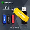 SUMSONIKO USB Flash Drive Swivel 5 Colors Pen Drive High Speed USB 2.0 Flash Memory Stick Gift Pendrive 64GB 32GB 16GB 8GB 4GB